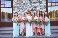 bridal party/families